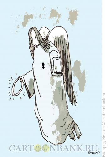 Карикатура: Инвалид, Богорад Виктор