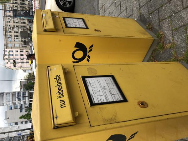 Мем: Только для любовных писем; Кёльн, Германия, Александра Снелл
