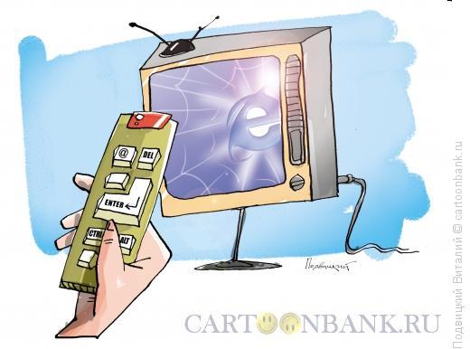 Карикатура: Смарт ТВ, Подвицкий Виталий
