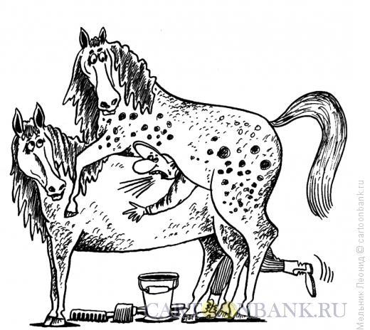 Карикатура: Не увернулся, Мельник Леонид