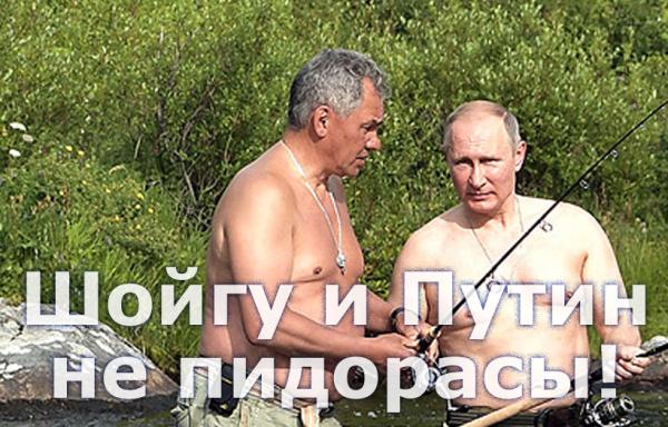 Мем: Шойгу и Путин не пидорасы!, Патрук