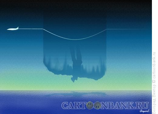 Карикатура: Воздушная яма, Богорад Виктор