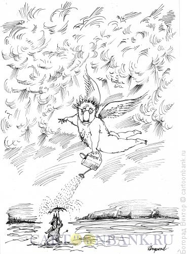Карикатура: Добро побеждает зло?, Богорад Виктор