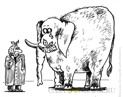 Карикатура: Боль, Мельник Леонид