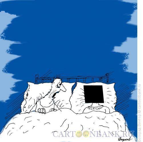 Карикатура: К 100-летию черного квадрата Малевича-1, Богорад Виктор