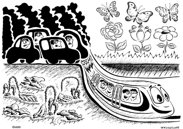 Карикатура: Метро, Giptopotam