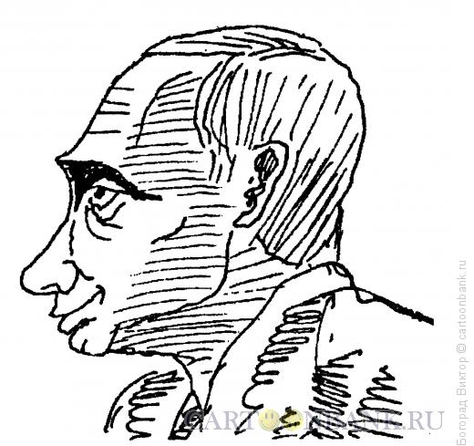 Карикатура: Путин Владимир Владимирович, Богорад Виктор