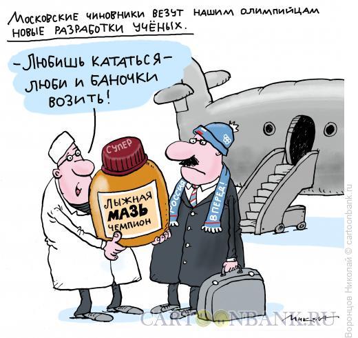 Карикатура: Функционер, Воронцов Николай