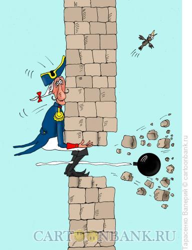 Карикатура: Прерванный полет, Тарасенко Валерий