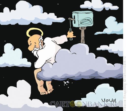 Карикатура: На кого бог пошлет, Иванов Владимир