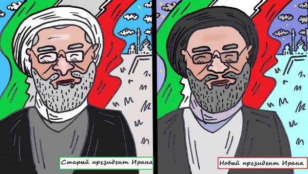 Карикатура: Найди 1001 отличие, или Восток - дело тонкое, Ипполит Сбодунов
