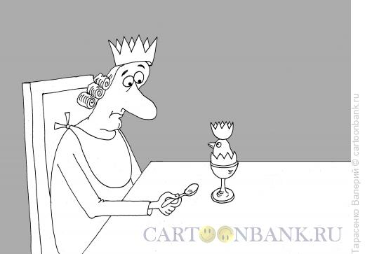Карикатура: Корона, Тарасенко Валерий