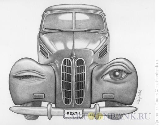 Карикатура: Удивительная машина,  Далпонте Паоло