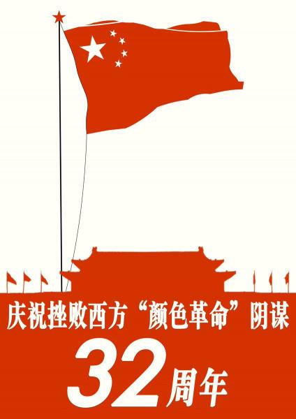 Мем: Тяньаньмень - 32 года китайского прогресса, Criptor