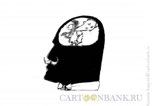 Карикатура: Внутренний голос, Климов Андрей