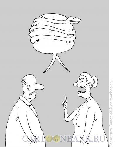 Карикатура: Диалог, Тарасенко Валерий