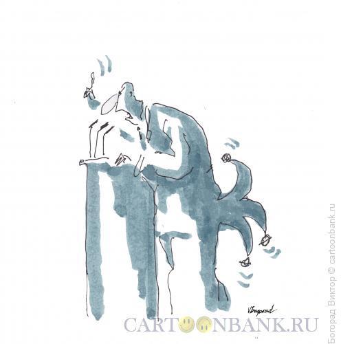 Карикатура: Оратор, Богорад Виктор