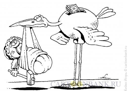 Карикатура: Ребенок-террорист, Кийко Игорь