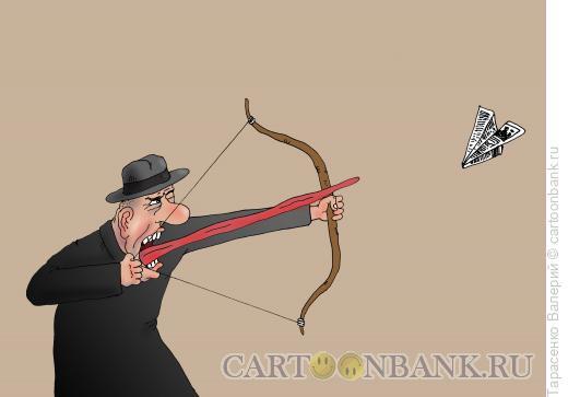 Карикатура: Язычник, Тарасенко Валерий