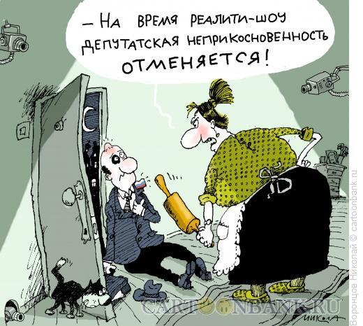 Карикатура: Реалити шоу, Воронцов Николай