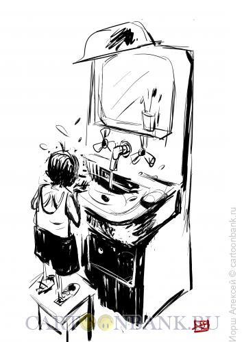 Карикатура: Мойдодыр, Иорш Алексей