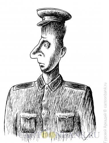 Карикатура: Волосы дыбом, Гурский Аркадий