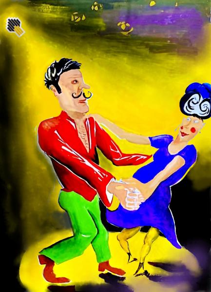 Карикатура: Последнее танго, Ипполит Сбодунов