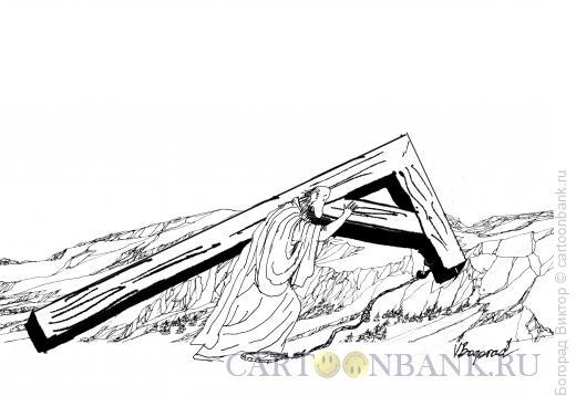 Карикатура: Сбой, Богорад Виктор