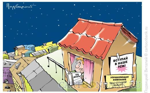 Карикатура: УК или ТСЖ?, Подвицкий Виталий