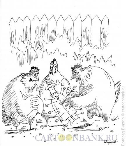 Карикатура: Вуду 2, Богорад Виктор