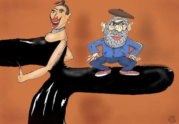 Карикатура: Голос диаспоры, Ипполит Сбодунов