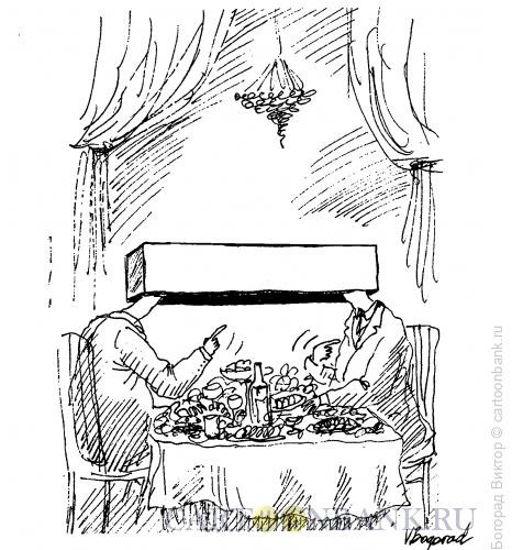 Карикатура: Тайные переговоры, Богорад Виктор