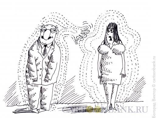 Карикатура: Биополя, Богорад Виктор
