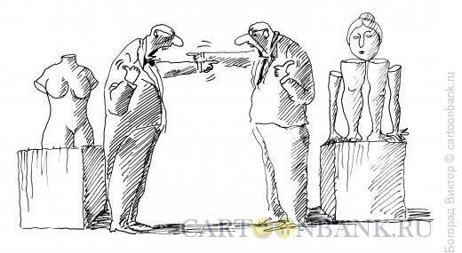 Карикатура: Ругань, Богорад Виктор