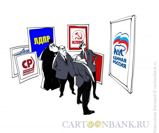 Карикатура: худсовет, Новосёлов Валерий