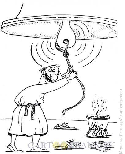 Карикатура: Звон, Мельник Леонид