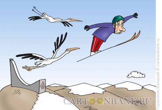 Карикатура: Перелет, Тарасенко Валерий