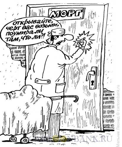 Карикатура: Риторический вопрос, Мельник Леонид