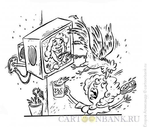 Карикатура: приятная новость, Егоров Александр