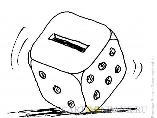 Карикатура: Кубик, Богорад Виктор