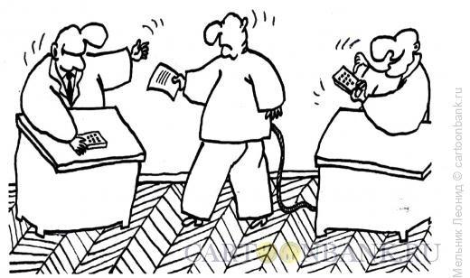 Карикатура: Манипуляторы, Мельник Леонид