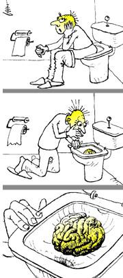 Карикатура: Что-то тут не так?, Юрий Санников