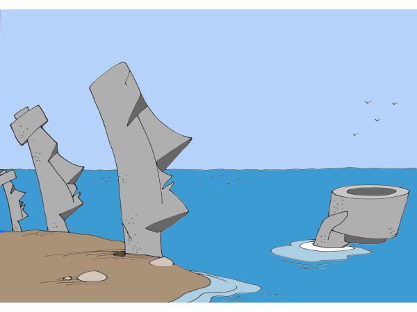 Карикатура: Ждем, Михаил Ларичев