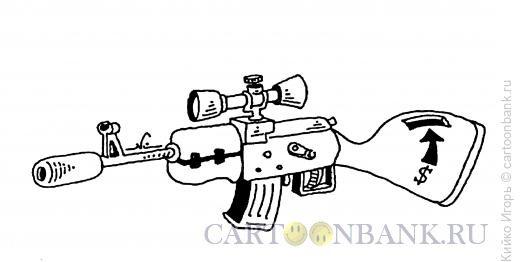 Карикатура: Платный автомат, Кийко Игорь