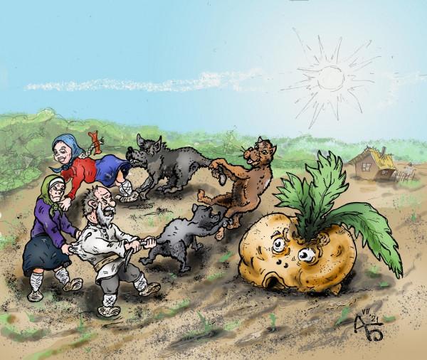 Карикатура: Промахнулись, backdanov