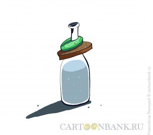 Карикатура: Провинциальный фастфуд, Новосёлов Валерий