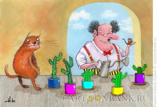 Карикатура: Кактусы, Наместников Юрий