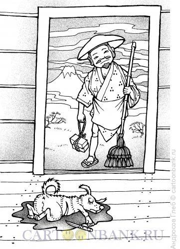 Карикатура: Трагедия в японском стиле, Андросов Глеб