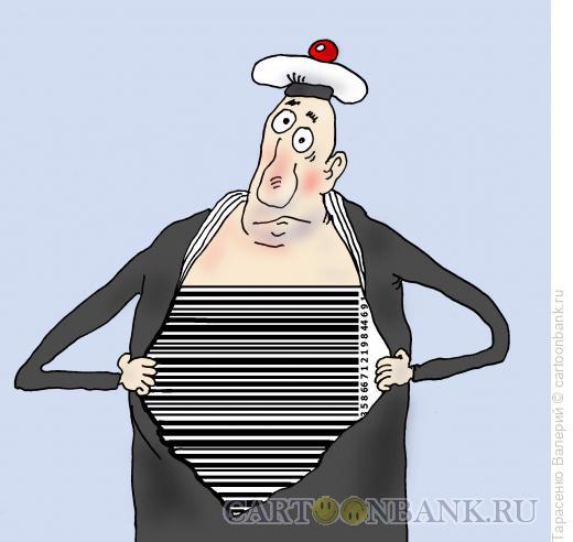Карикатура: Новая тельняшка, Тарасенко Валерий