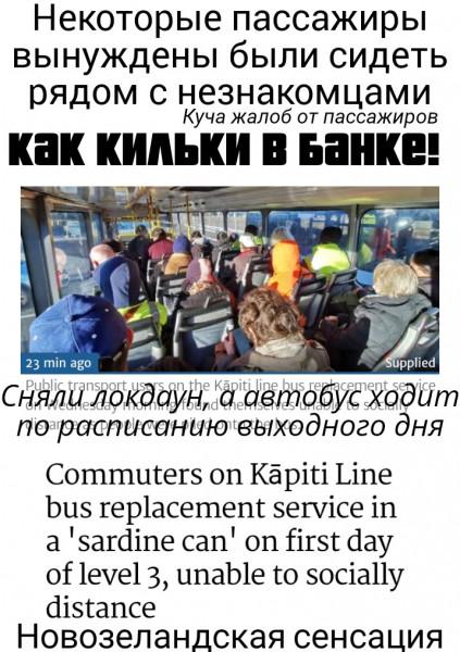 Мем: Ехать в автобусе, как кильки в банке?, Ram2021